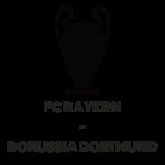 2013: deutsches CL Finale: FC Bayern vs. Borussia Dortmund